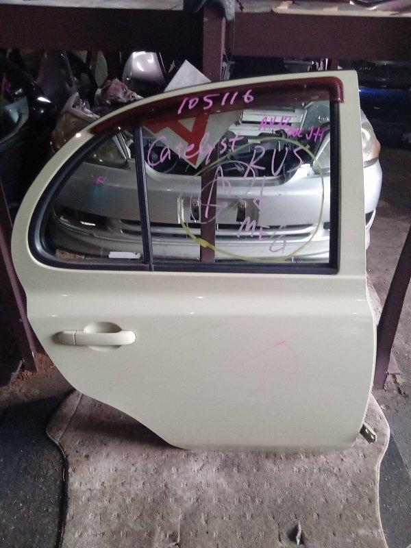Дверь Nissan March AK12 задняя правая (б/у)