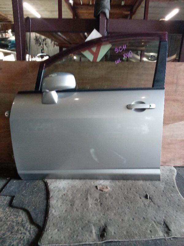 Дверь Nissan Tiida Latio SC11 передняя левая (б/у)