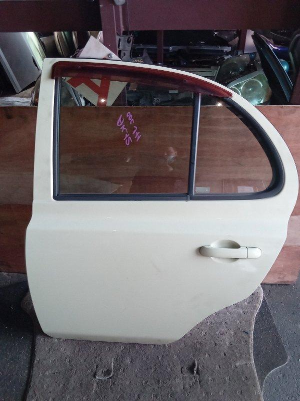 Дверь Nissan March AK12 задняя левая (б/у)