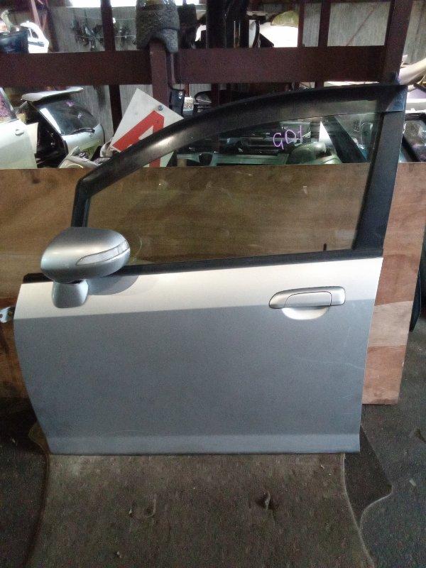 Дверь Honda Fit GD1 передняя левая (б/у)