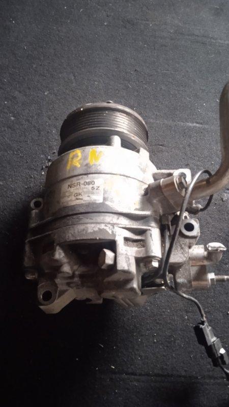 Компрессор кондиционера Honda Stream RN8 R20A (б/у)