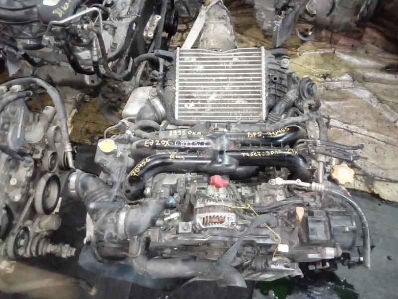 Двигатель Subaru Legacy BP5 EJ20XHKDME (б/у)