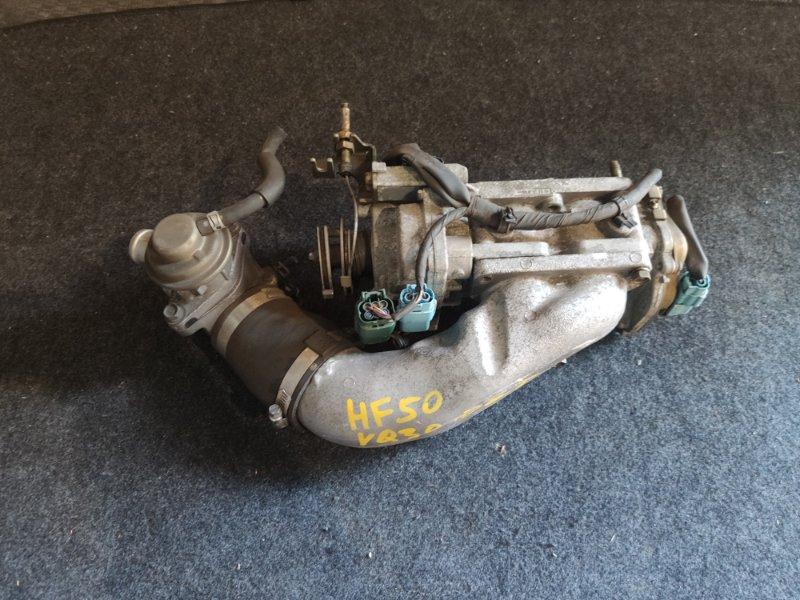 Дроссельная заслонка Nissan Cima HF50 VQ30DET (б/у)