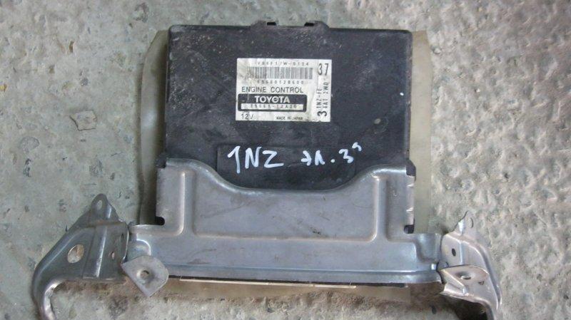 Блок управления двс Toyota Corolla NZE121 1NZFE (б/у)