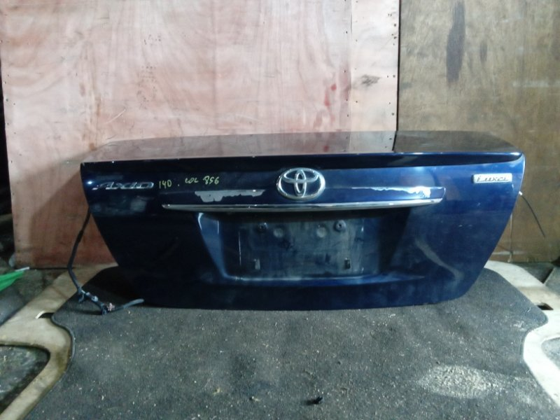 Крышка багажника Toyota Corolla Axio NZE141 задняя (б/у)
