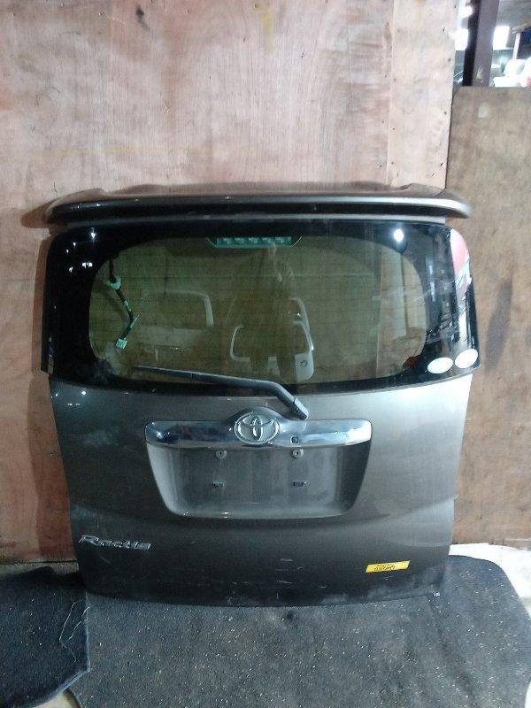 Дверь 5-я Toyota Ractis NCP100 задняя (б/у)