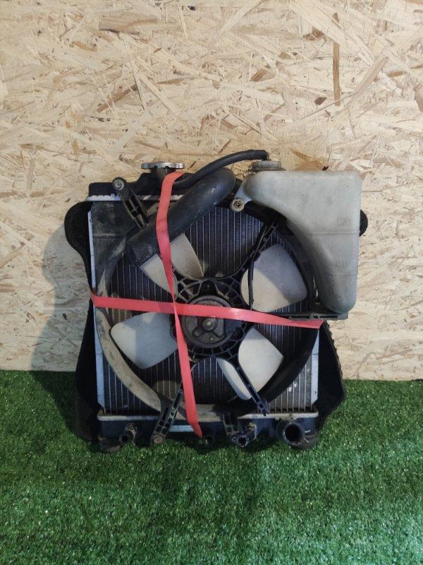 Радиатор охлаждения Honda Capa GA4 D15B (б/у)