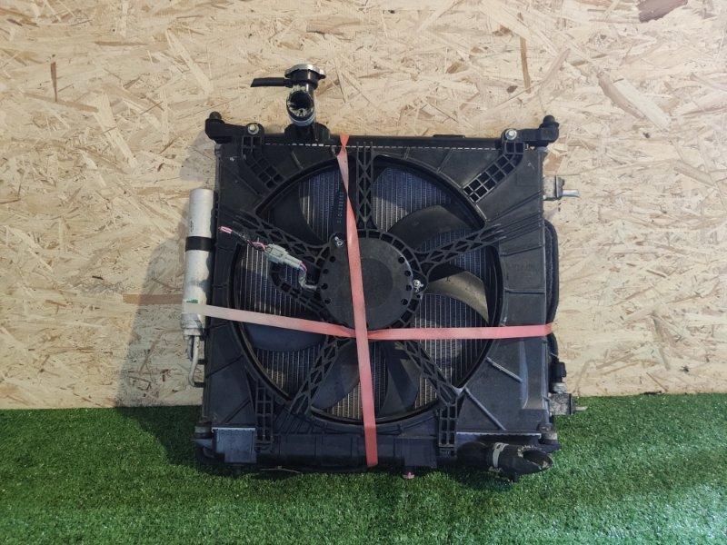 Радиатор Nissan March K13 HR12 (б/у)