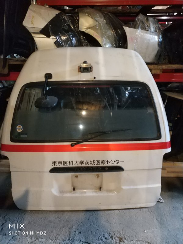 Дверь 5-я Toyota Hiace UZH132 (б/у)