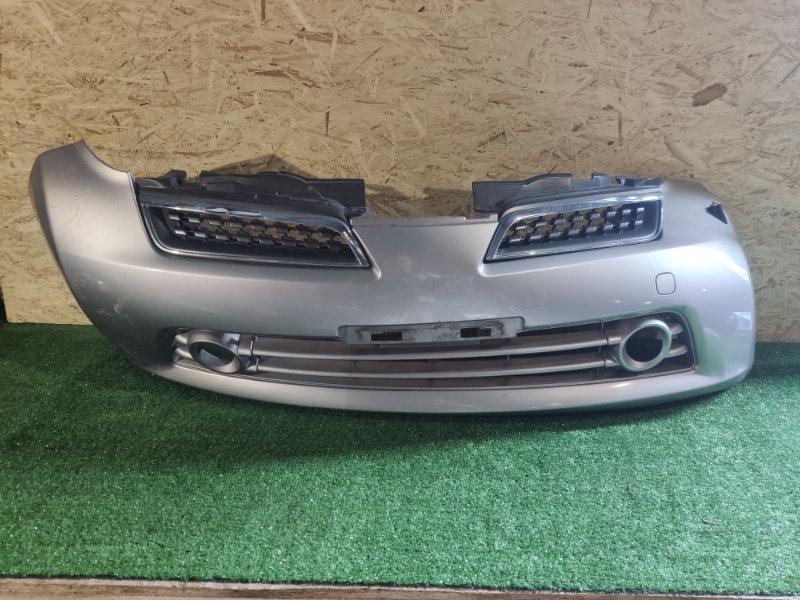 Бампер Nissan March AK12 передний (б/у)