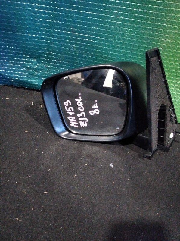 Зеркало Suzuki Solio MA15S переднее левое (б/у)