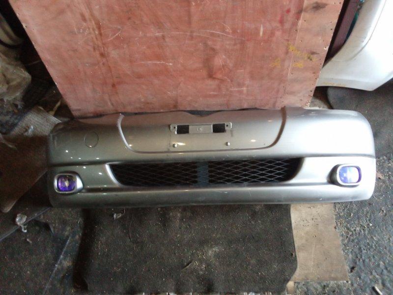 Бампер Toyota Vitz SCP10 передний (б/у)