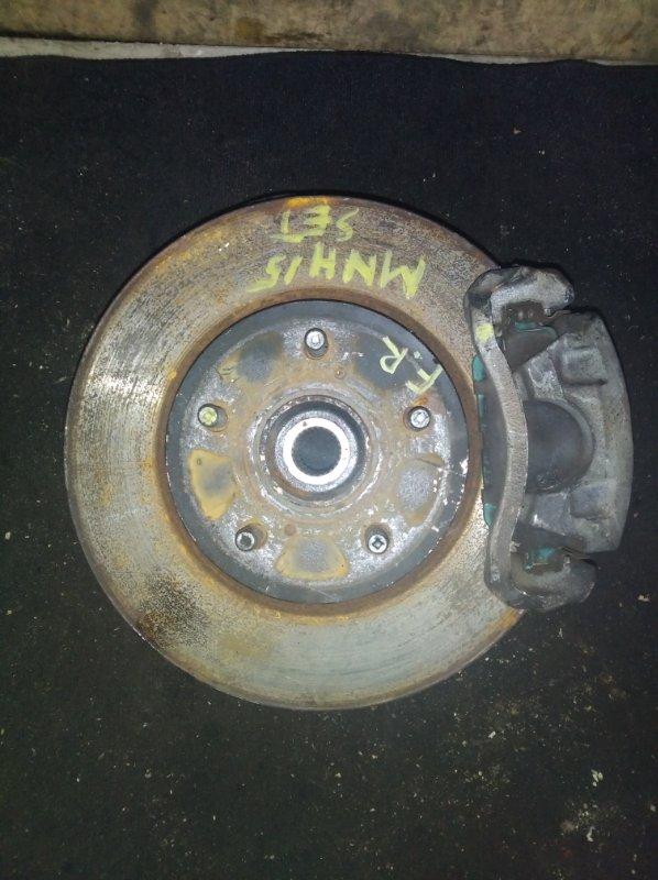 Ступица Toyota Alphard MNH15 1MZ передняя правая (б/у)