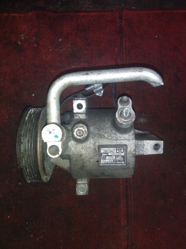 Компрессор кондиционера Nissan Dayz Roox B21A 3B20 (б/у)