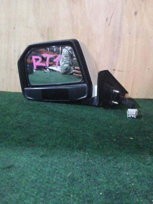 Зеркало Honda Crossroad RT1 переднее левое (б/у)