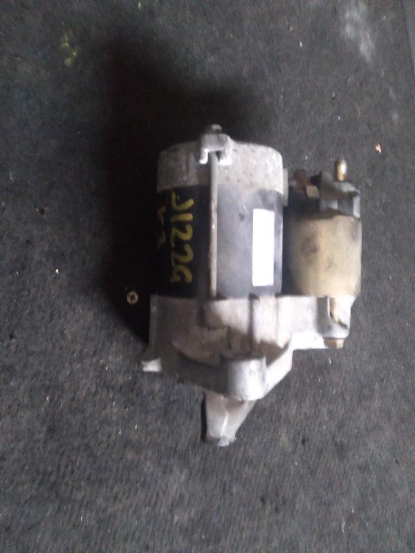 Стартер Daihatsu Terios J122G K3VE (б/у)