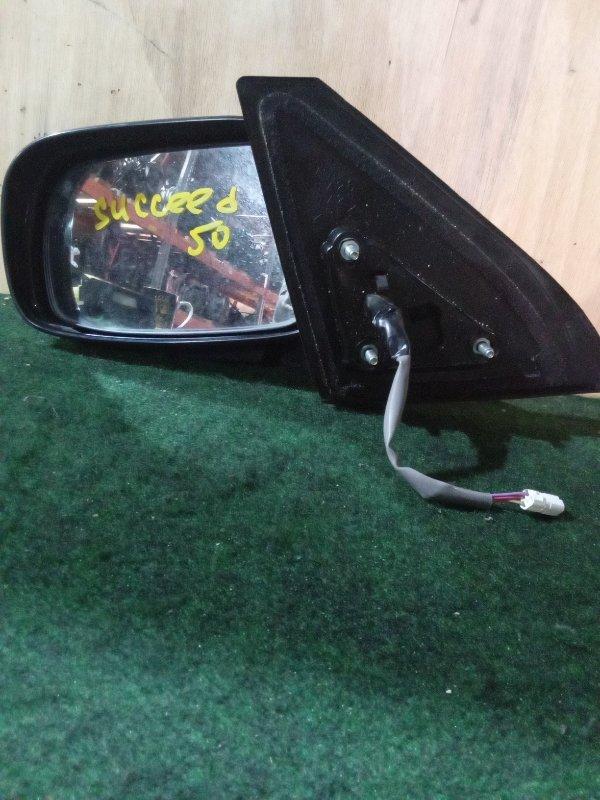 Зеркало Toyota Succeed NCP50 переднее левое (б/у)