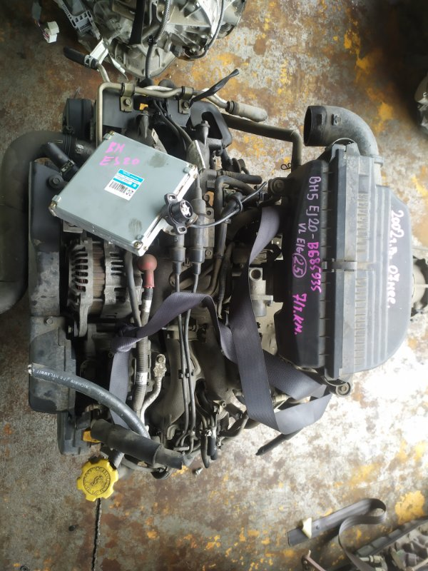 Двигатель Subaru Legacy BH5 EJ202DXEAE-101 2002г.в. 07мес (б/у)