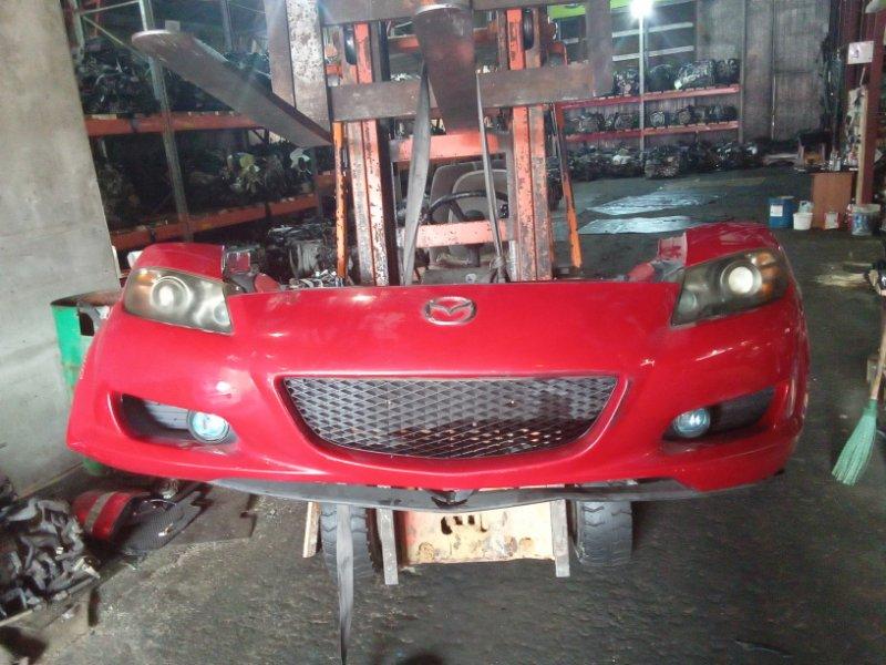 Nose cut Mazda Rx-8 SE3P 13B передний (б/у)