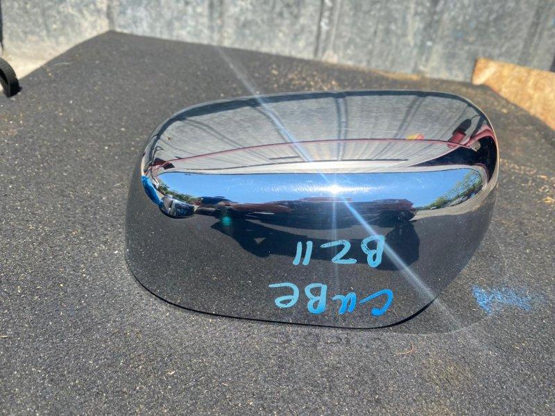 Накладка на зеркало Nissan Cube BZ11 правая (б/у)