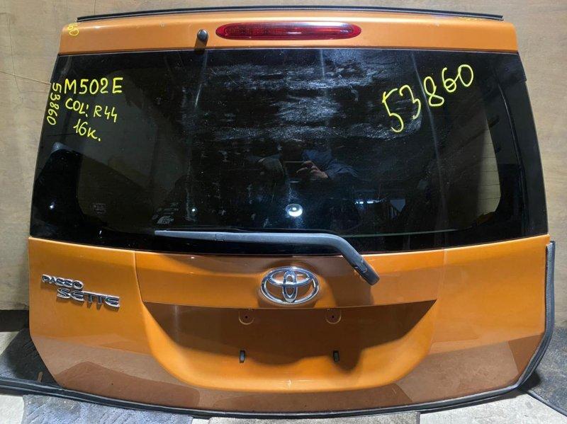 Дверь 5-я Toyota Passo Sette M502E задняя (б/у)