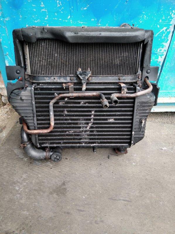 Радиатор охлаждения Mitsubishi Canter FE82B 4M42T (б/у)