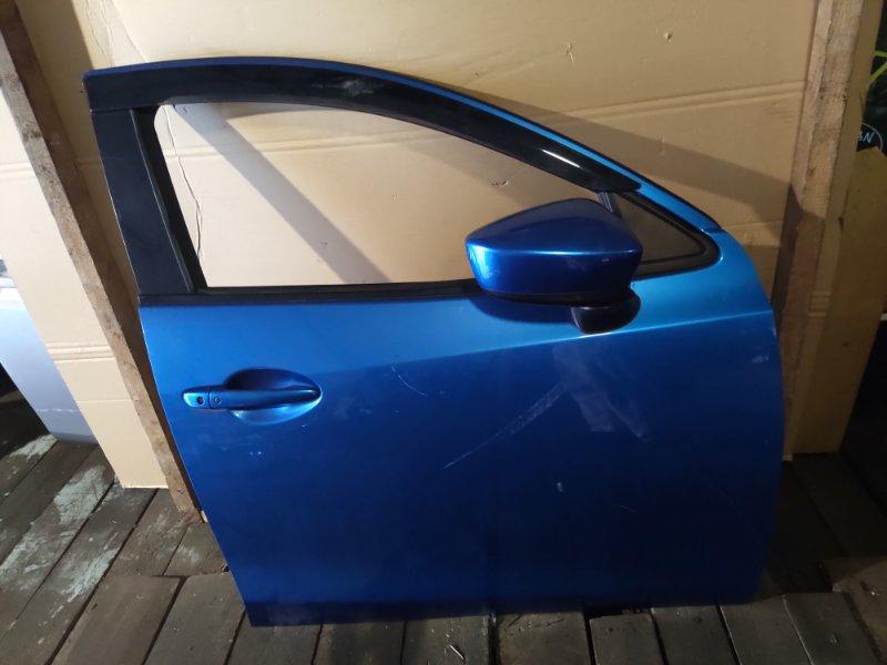 Дверь Mazda Demio DJ5FS S5 передняя правая (б/у)