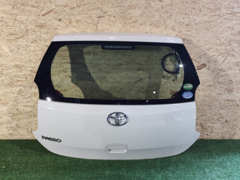 Дверь 5-я Toyota Passo KGC30 (б/у)