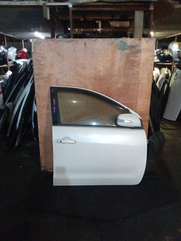 Дверь Toyota Ist NCP61 передняя правая (б/у)