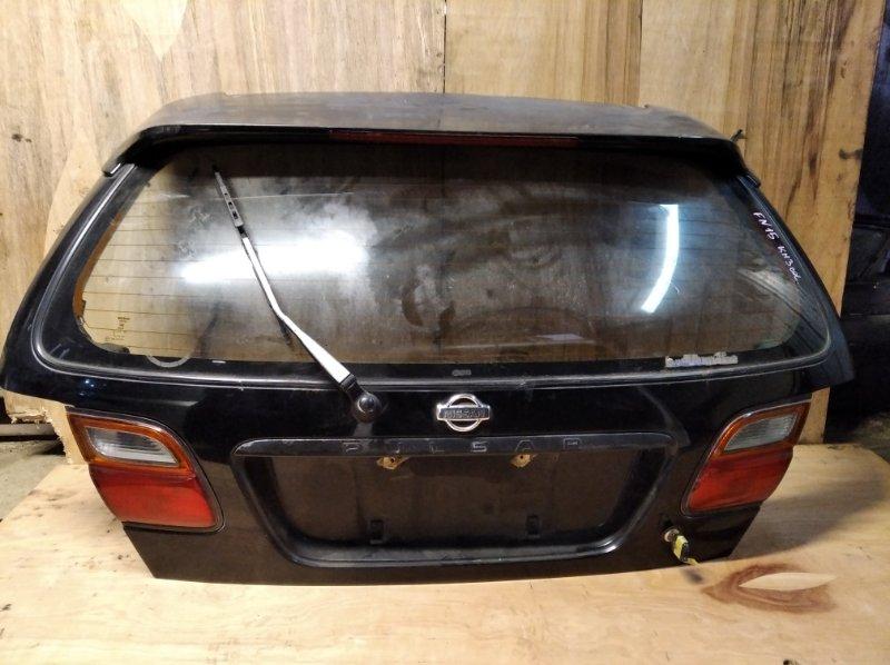 Дверь 5-я Nissan Pulsar FN15 задняя (б/у)
