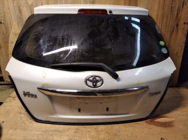 Дверь 5-я Toyota Vitz NSP130 задняя (б/у)