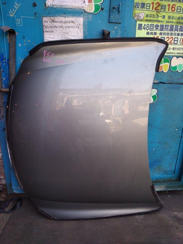 Капот Nissan Fuga Y50 (б/у)