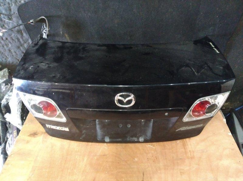 Крышка багажника Mazda Atenza GG3P задняя (б/у)