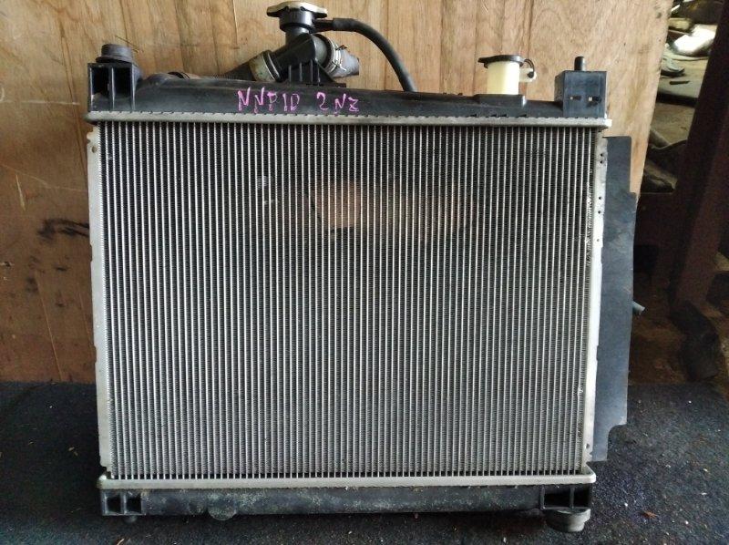 Радиатор охлаждения Toyota Porte NNP10 2NZ (б/у)