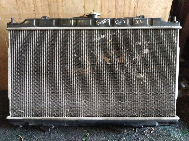 Радиатор охлаждения Nissan Sunny B15 QG15 (б/у)