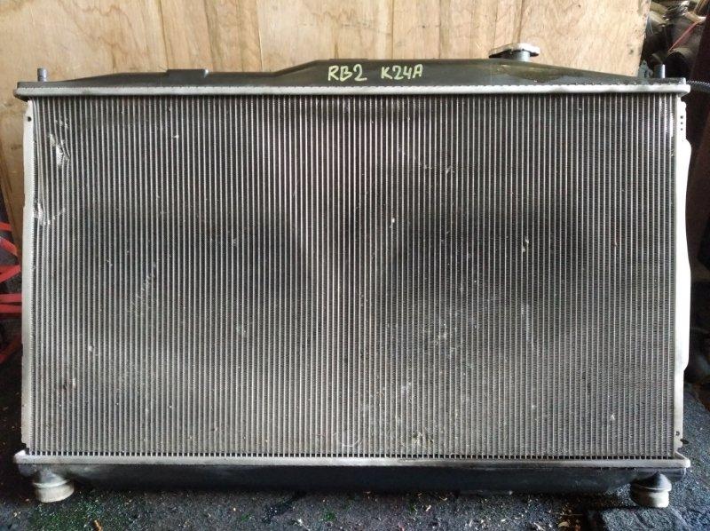 Радиатор охлаждения Honda Odyssey RB2 K24A (б/у)