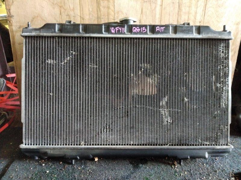 Радиатор охлаждения Nissan Ad WFY11 QG15 (б/у)