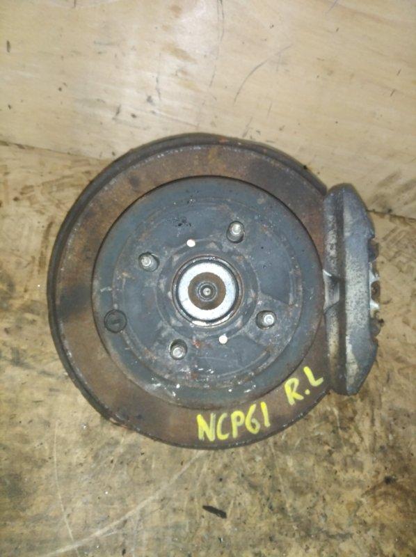 Ступица Toyota Ist NCP61 1NZ задняя левая (б/у)