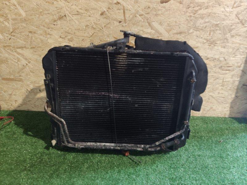 Радиатор охлаждения Toyota Hiace RZH133 2RZ-E (б/у)