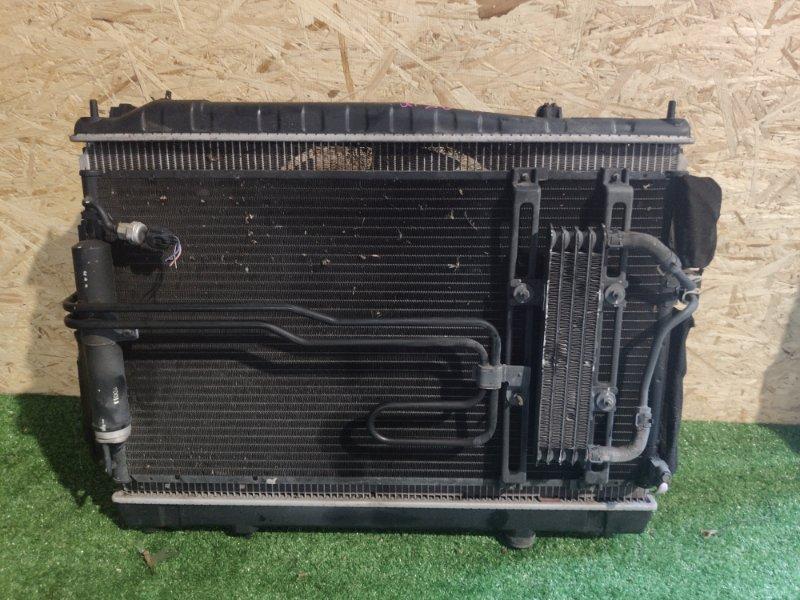 Радиатор охлаждения Nissan Cima GF50 VK45 (б/у)