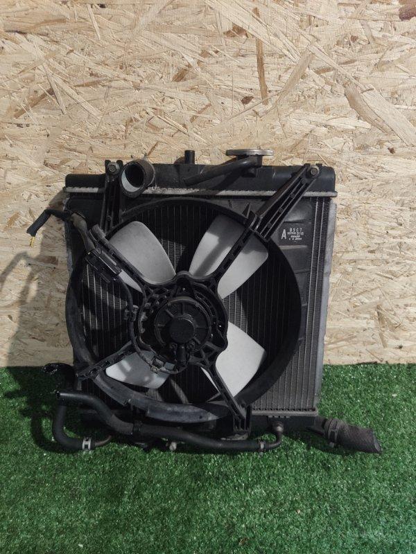 Радиатор охлаждения Mazda Demio DW3W (б/у)