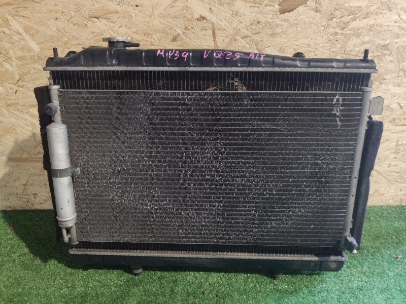 Радиатор охлаждения Nissan Cedric MY34 VQ25 (б/у)