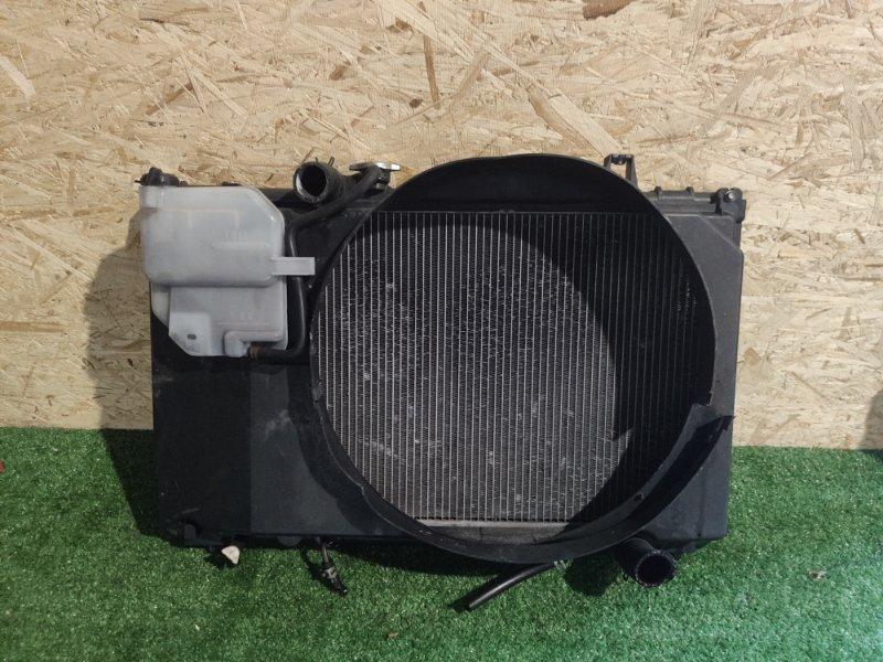 Радиатор охлаждения Toyota Cresta GX100 1G (б/у)
