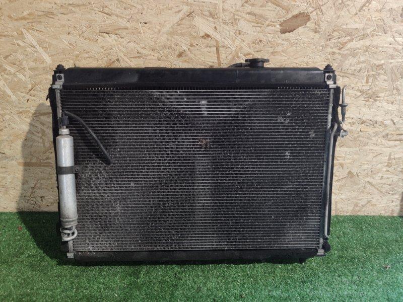 Радиатор охлаждения Nissan Fuga Y50 (б/у)