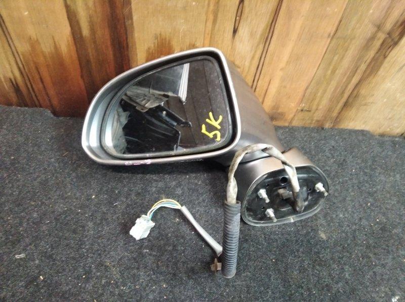 Зеркало Honda Airwave GJ1 переднее левое (б/у)