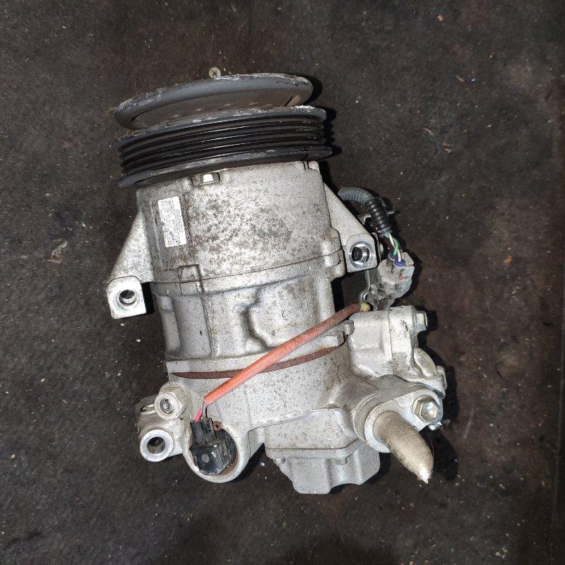 Компрессор кондиционера Toyota Rumion NZE151 1NZ (б/у)