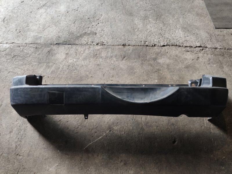 Бампер Mitsubishi Pajero Io H76W задний (б/у)