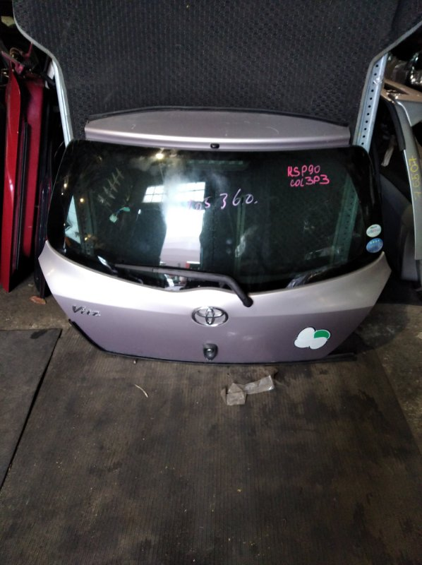 Дверь 5-я Toyota Vitz KCP90 (б/у)