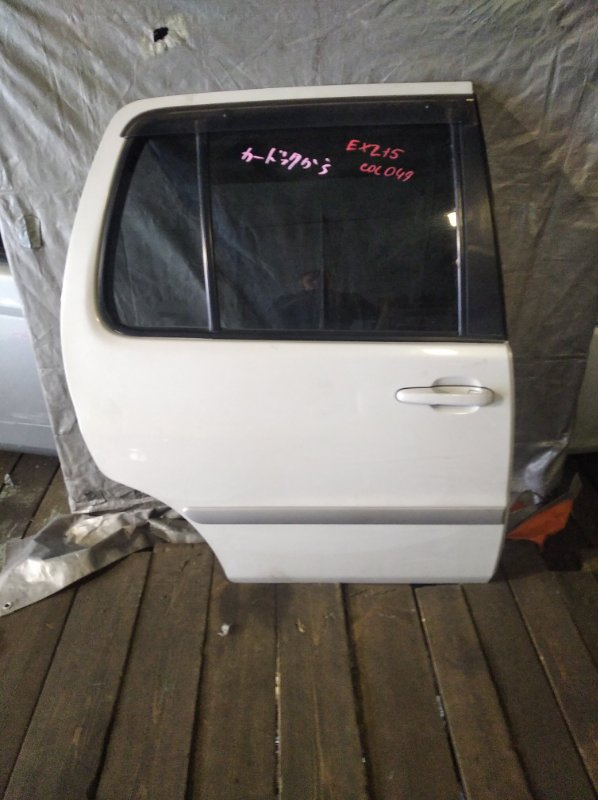 Дверь Toyota Raum EXZ15 задняя правая (б/у)