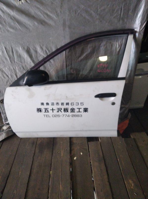 Дверь Nissan Wingroad VFY11 передняя левая (б/у)
